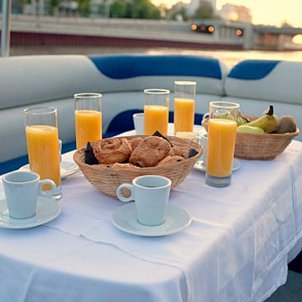 Breakfast Cruise on the Seine